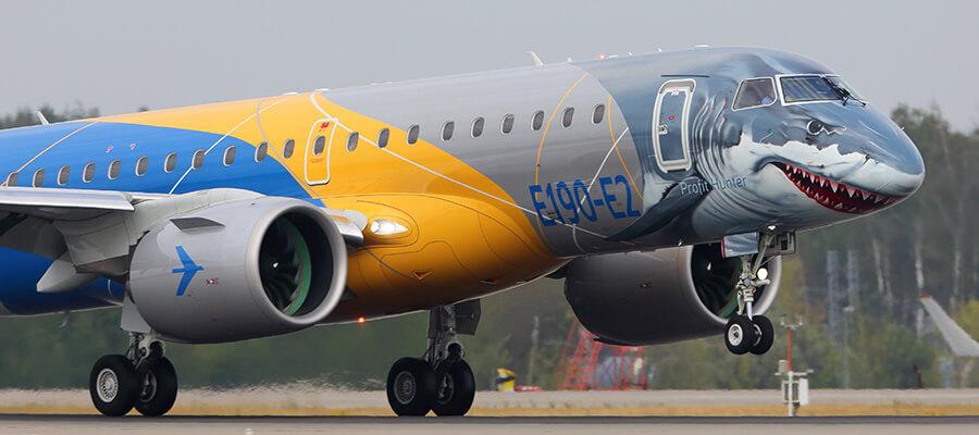 Dünyanın en renkli ve ilginç uçağı Embraer'den!