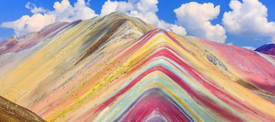 Peru'nun büyüleyici gökkuşağı dağı: Vinicunca