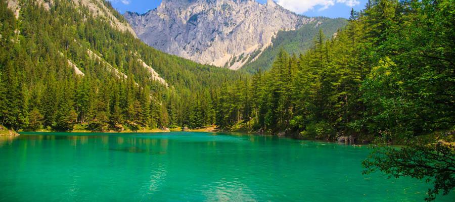 Kışın kaybolan sihirli göl: Grüner See