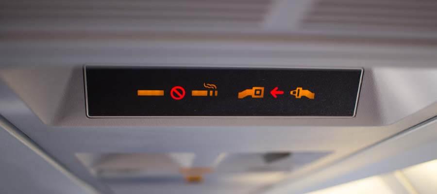 Pilotların gizli iletişim aracı: Kemer ikaz ışıkları